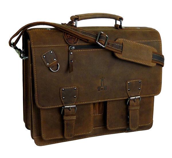 Aktentasche Schultasche Vintage Buffalo