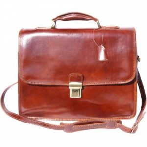 Florence Leather Laptop-Tasche Leder