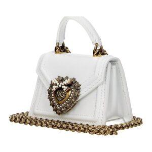 Dolce&Gabbana Umhängetasche Devotion Leder