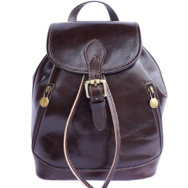 Leder City Rucksack Luminosa