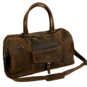 Leder Sporttasche Reisetasche Vintage