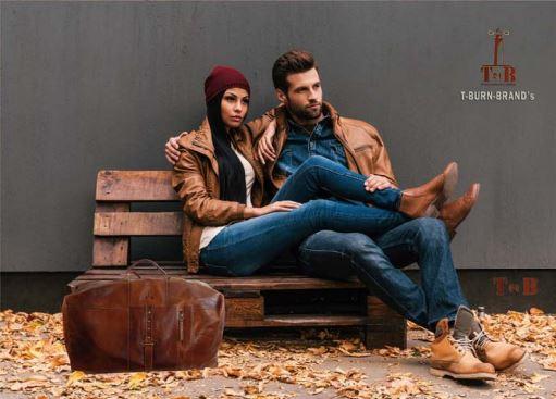 Leder Reisetasche für Männer