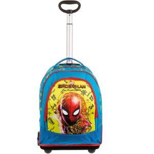 SEVEN Schulrucksack Trolley Spiderman